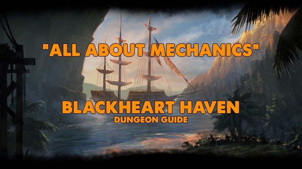 blackheart, pirate, captain blackheart, eso blackheart, eso dungeon guide, eso blackheart haven dungeon guide, blackheart haven xynode