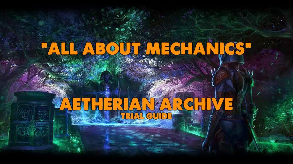 vaa, aetherian archive, craglorn, trial, endgame, xynode, eso