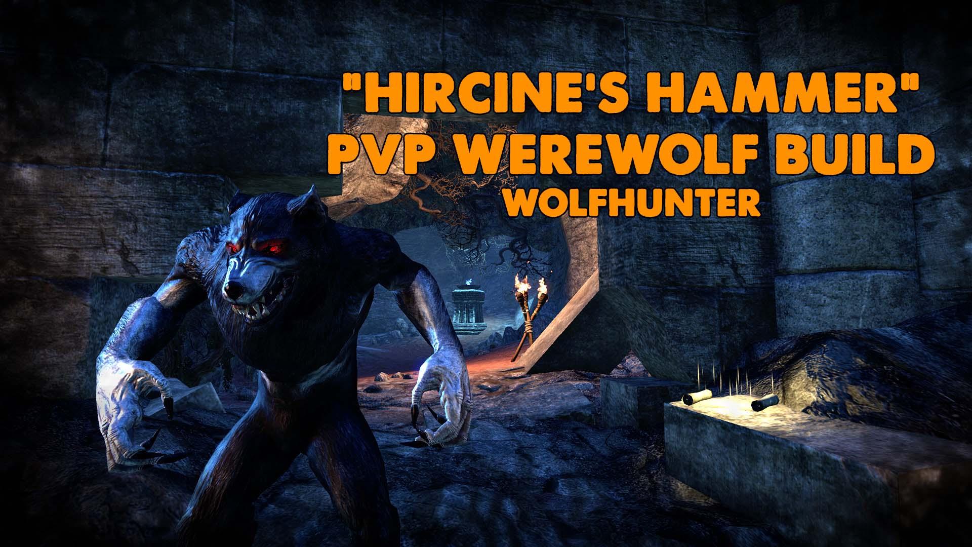 ww, werewolf, pvp werewolf, pvp nightblade, pvp nb, pvp ww, pvp berserker werewolf
