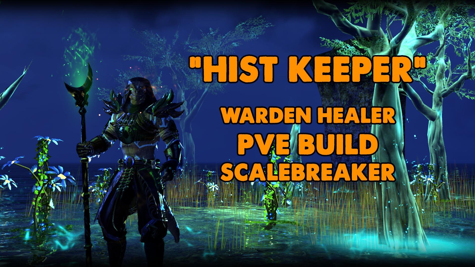 warden , warden build, eso warden build, eso warden healer build, elder scrolls online waden healer build, hist keeper, hist, argonian healer, lizard healer, warden, endgame healer