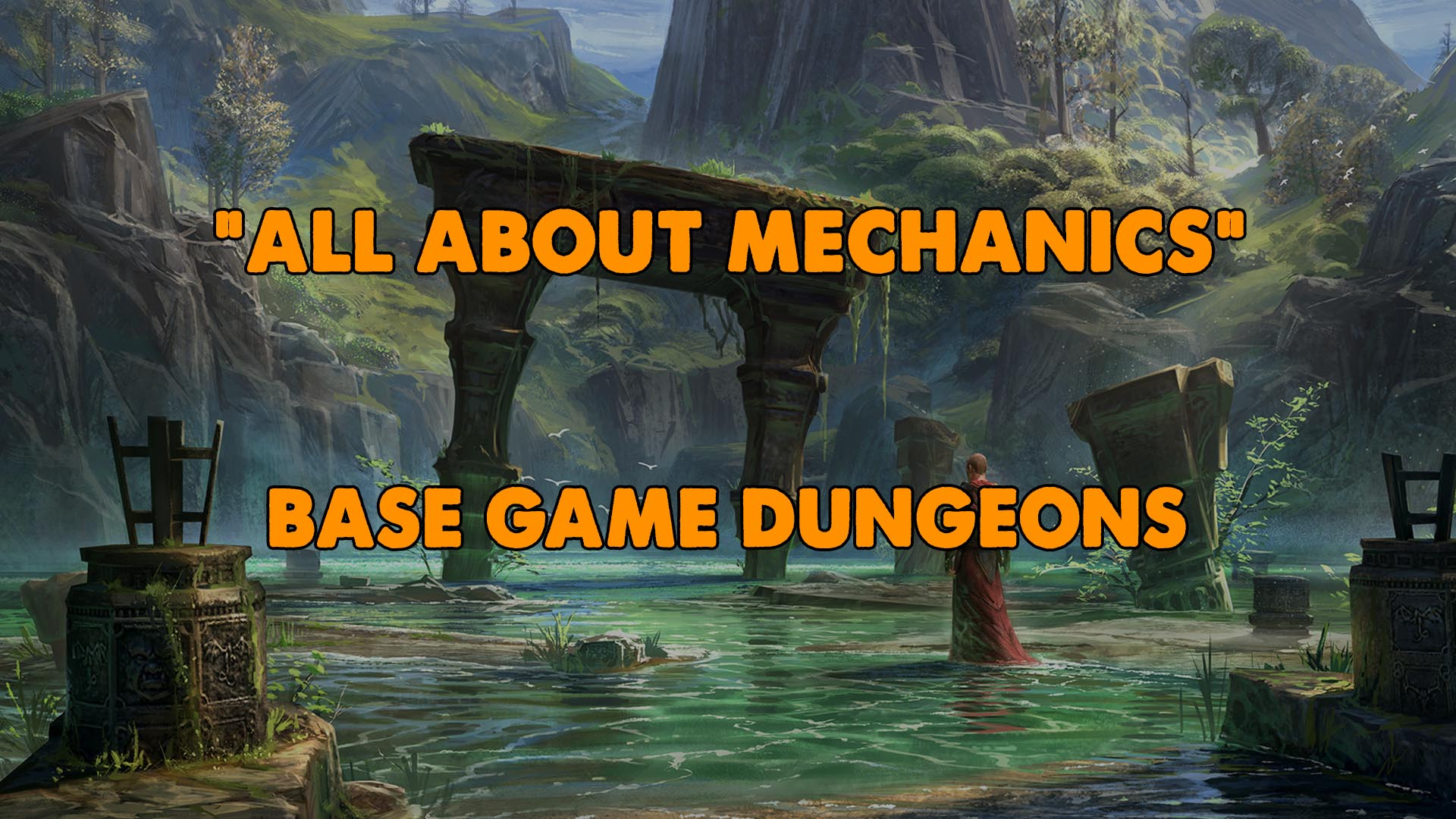 eso dungeons, elder scrolls online dungeons, eso dungeon guide, eso dungeon guides, xynode guides, xynode dungeon guide, all about mechanics