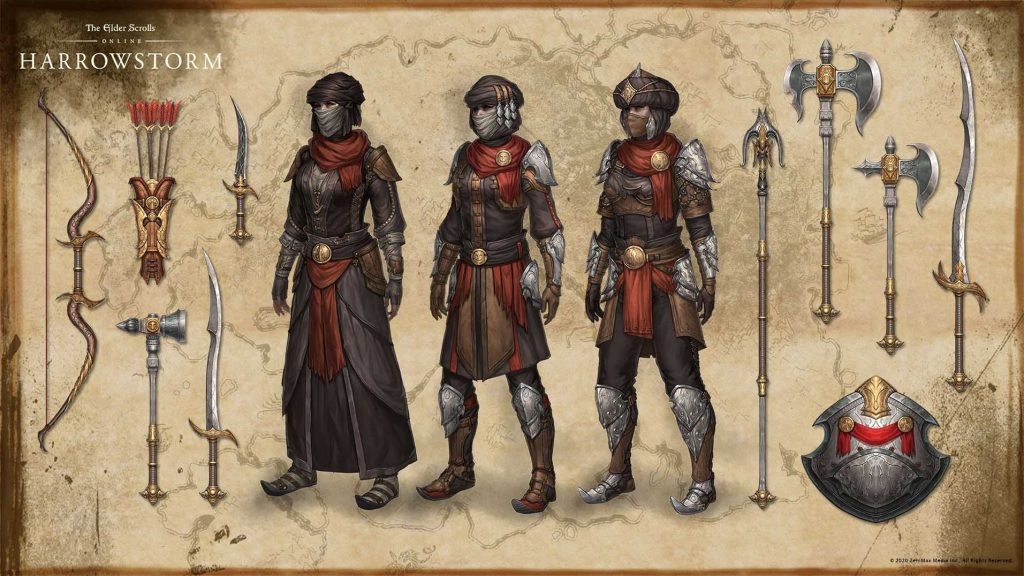 eso, armour, motif