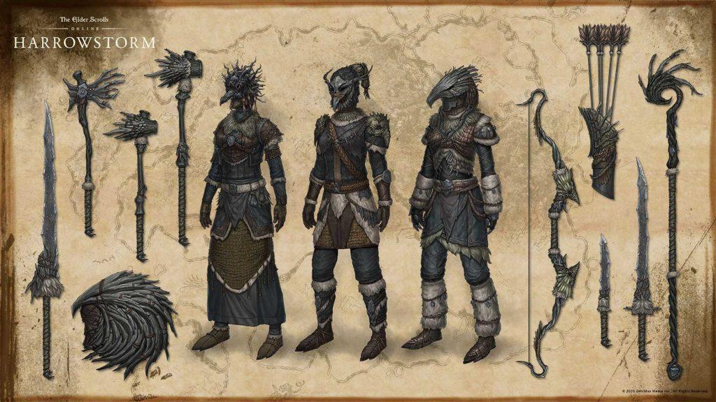 new armour, eso armour