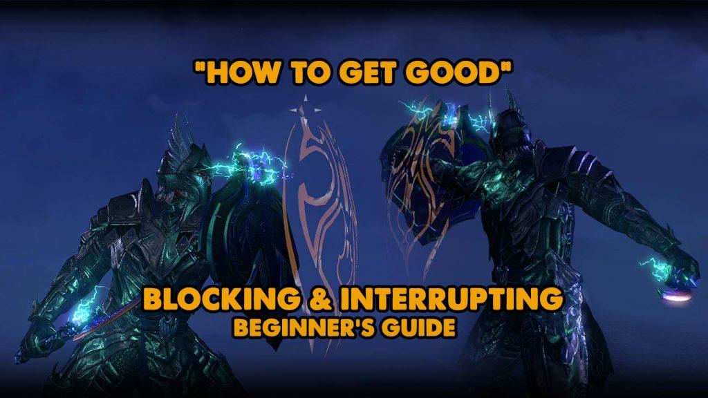 get good, blocking, dodge roll
