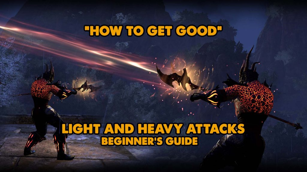 light attack, heavy attack, eso sustain
