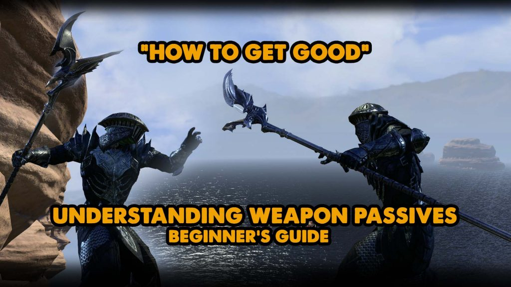 eso weapon skills, weapon passives, ice tank