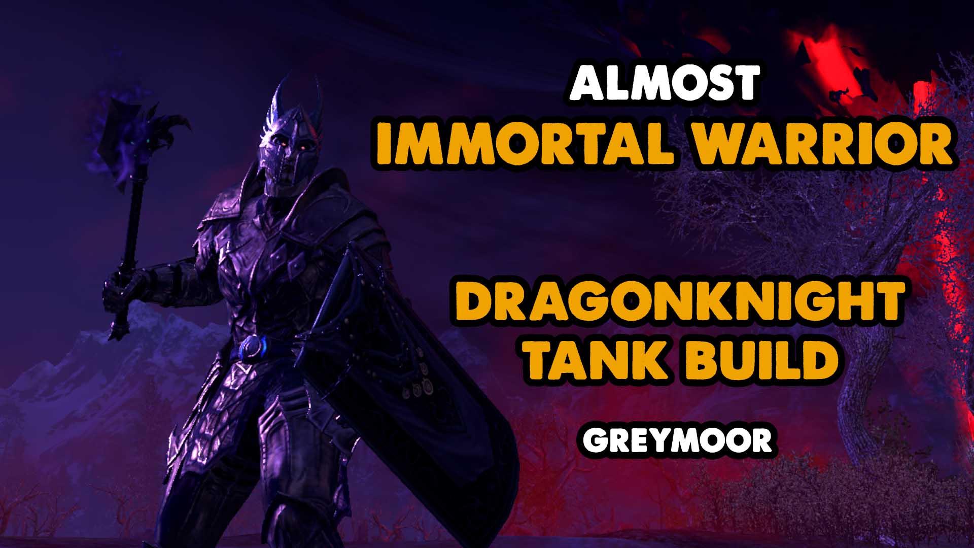 dragonknight, tank, greymoor, skyrim