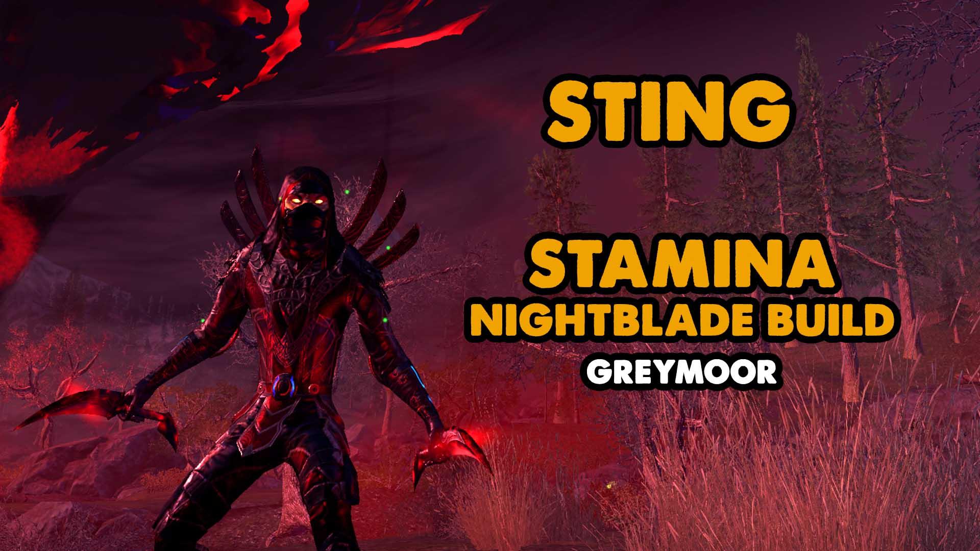 sting, nightblade, stamblade