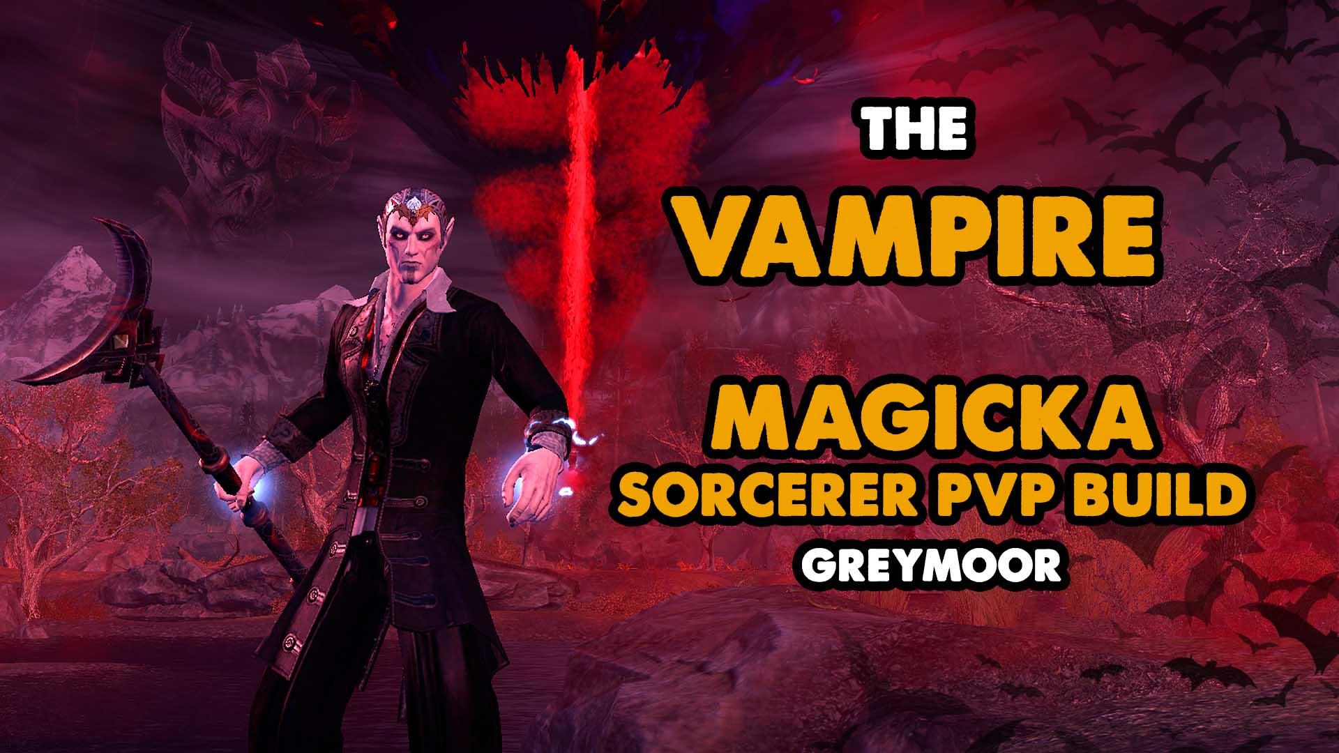 vampire,eso, greymoor, pvp