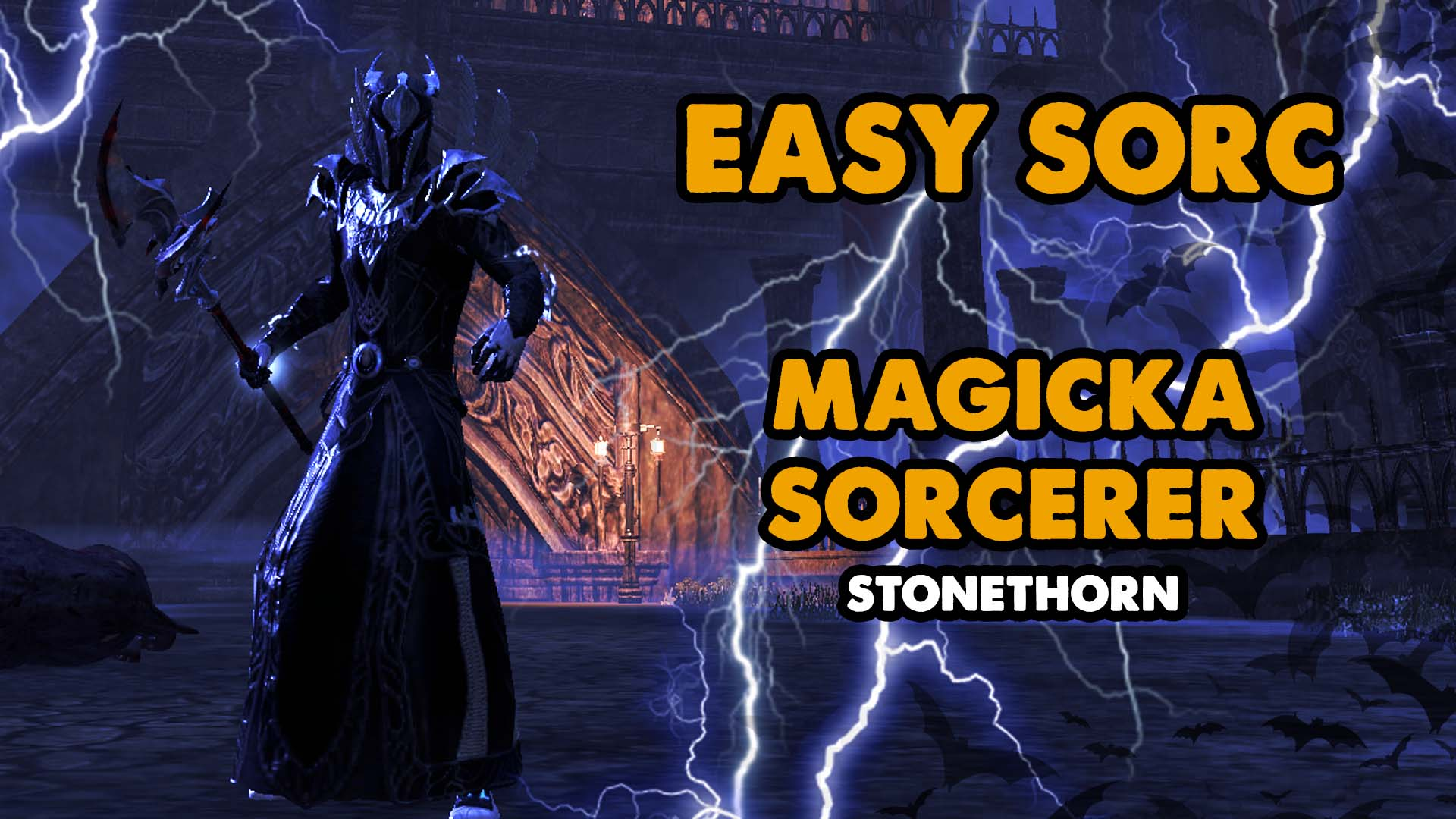 sorc, sorcerer, solo build, magicka, magsorc