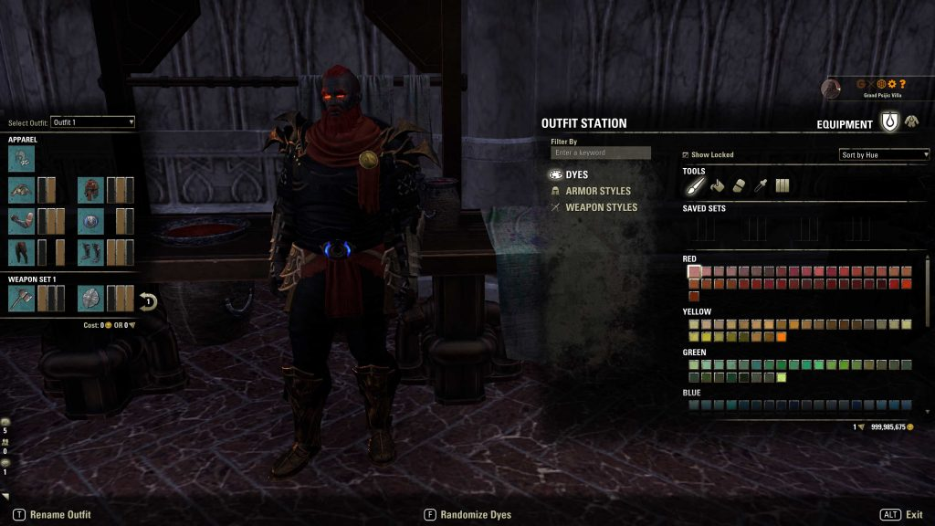 ESO Fashion, easy tank, best armour, best armor