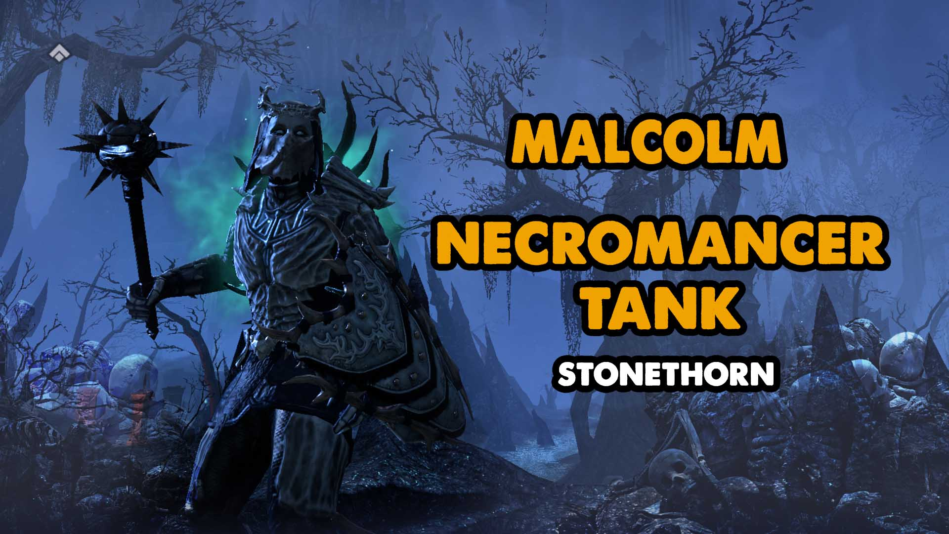 necro, necromancer, tank, build, elder scrolls,