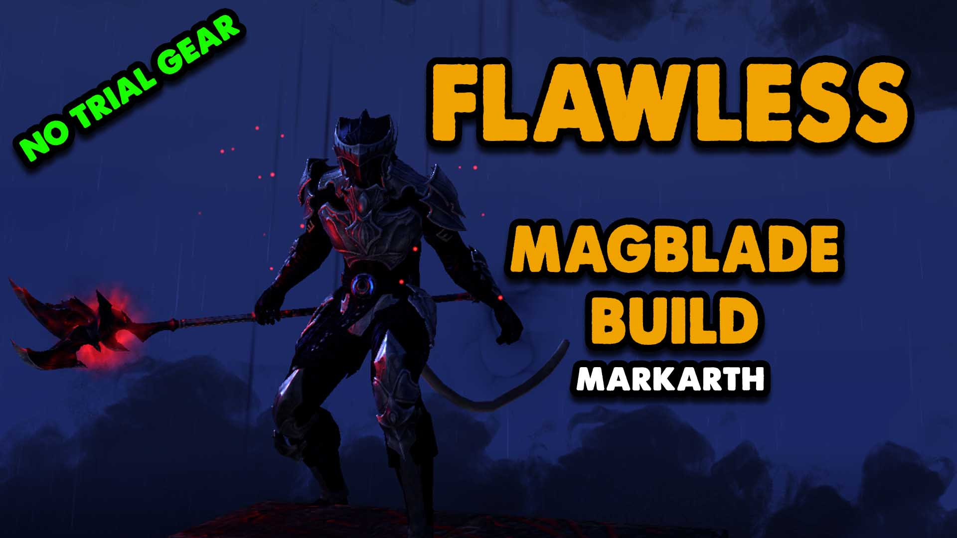 flawless, nightblade, vma, trial, dungeon, xynode, xynode gaming, magblade, eso magblade build, eso best magblade build 2020,